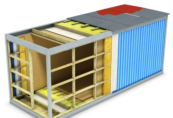 Металлические блок контейнеры купить в Москве   Цены